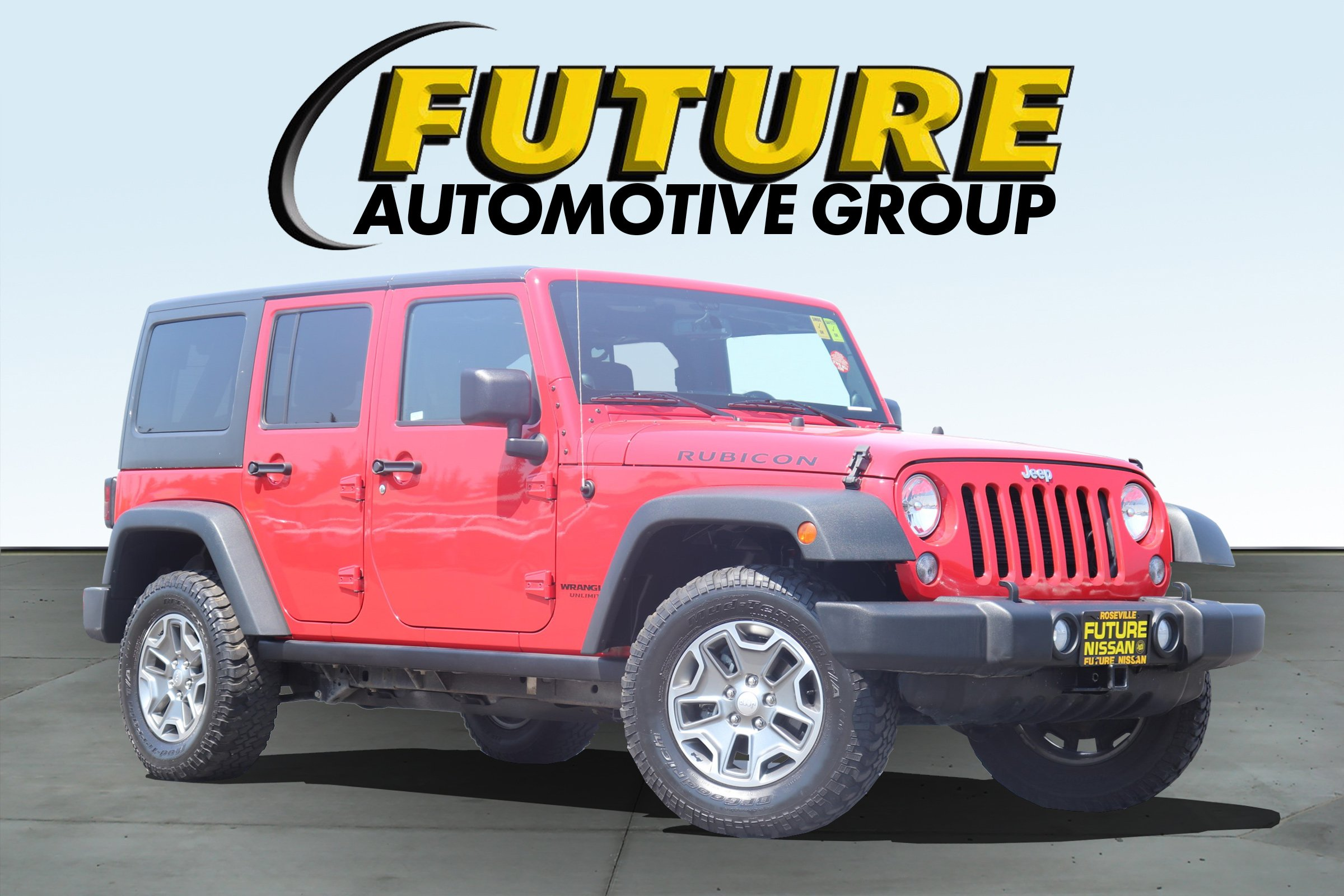 Pre Owned 2014 Jeep Wrangler Unlimited Rubicon ...