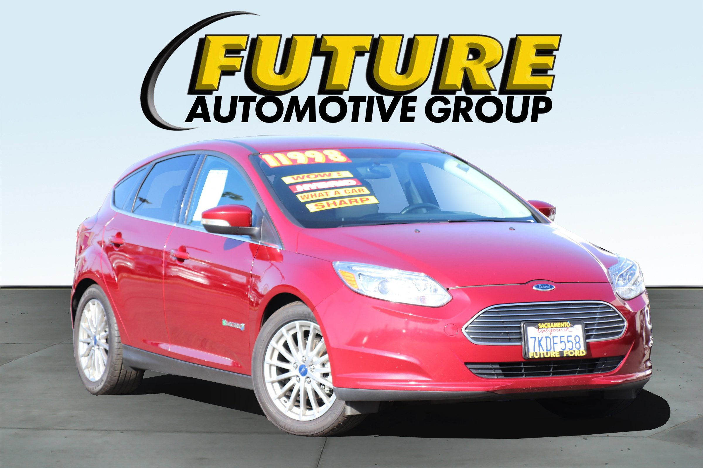 Pre-Owned 2015 Ford Focus Electric Base