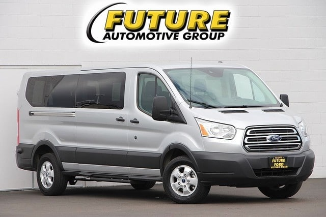 Pre-Owned 2018 Ford Transit Passenger Wagon T-350 148 Low Roof XL Sliding RH Dr