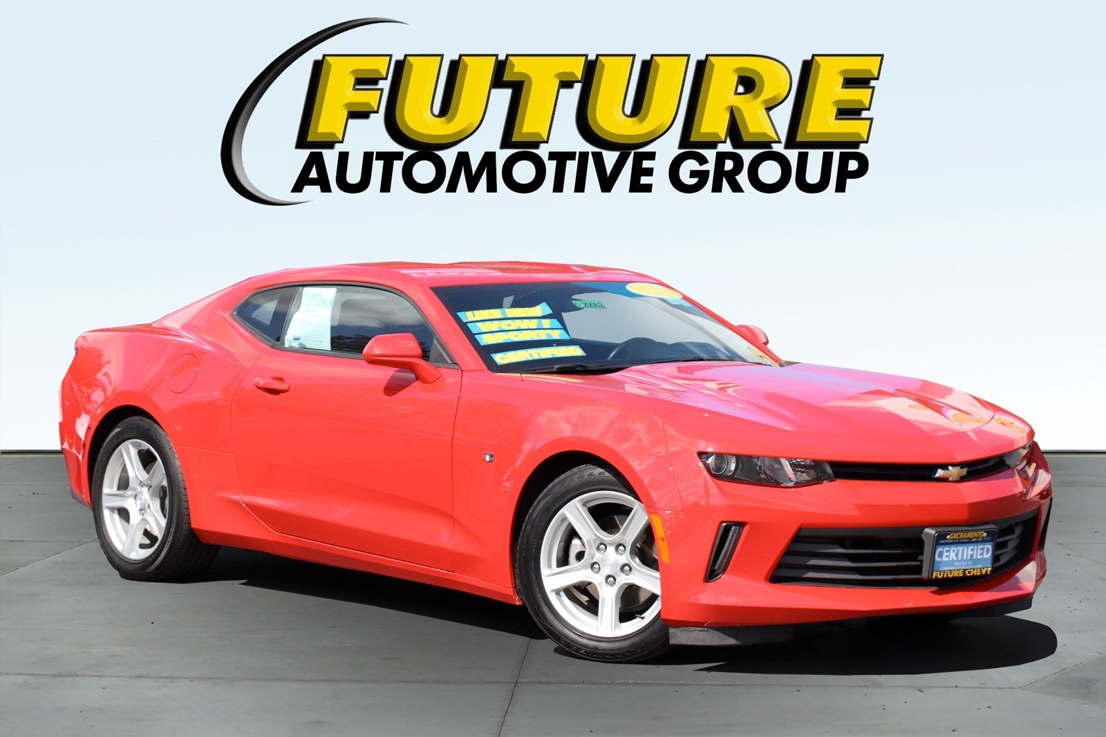 Pre-Owned 2017 Chevrolet Camaro 1LS