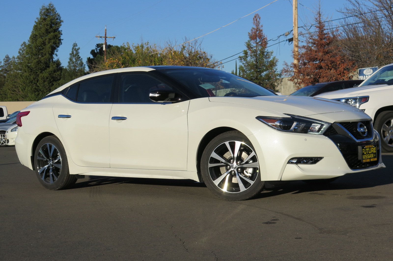 Nissan Certified Pre Owned >> New 2018 Nissan Maxima Platinum 4dr Car in Roseville #N45171 | Future Nissan of Roseville