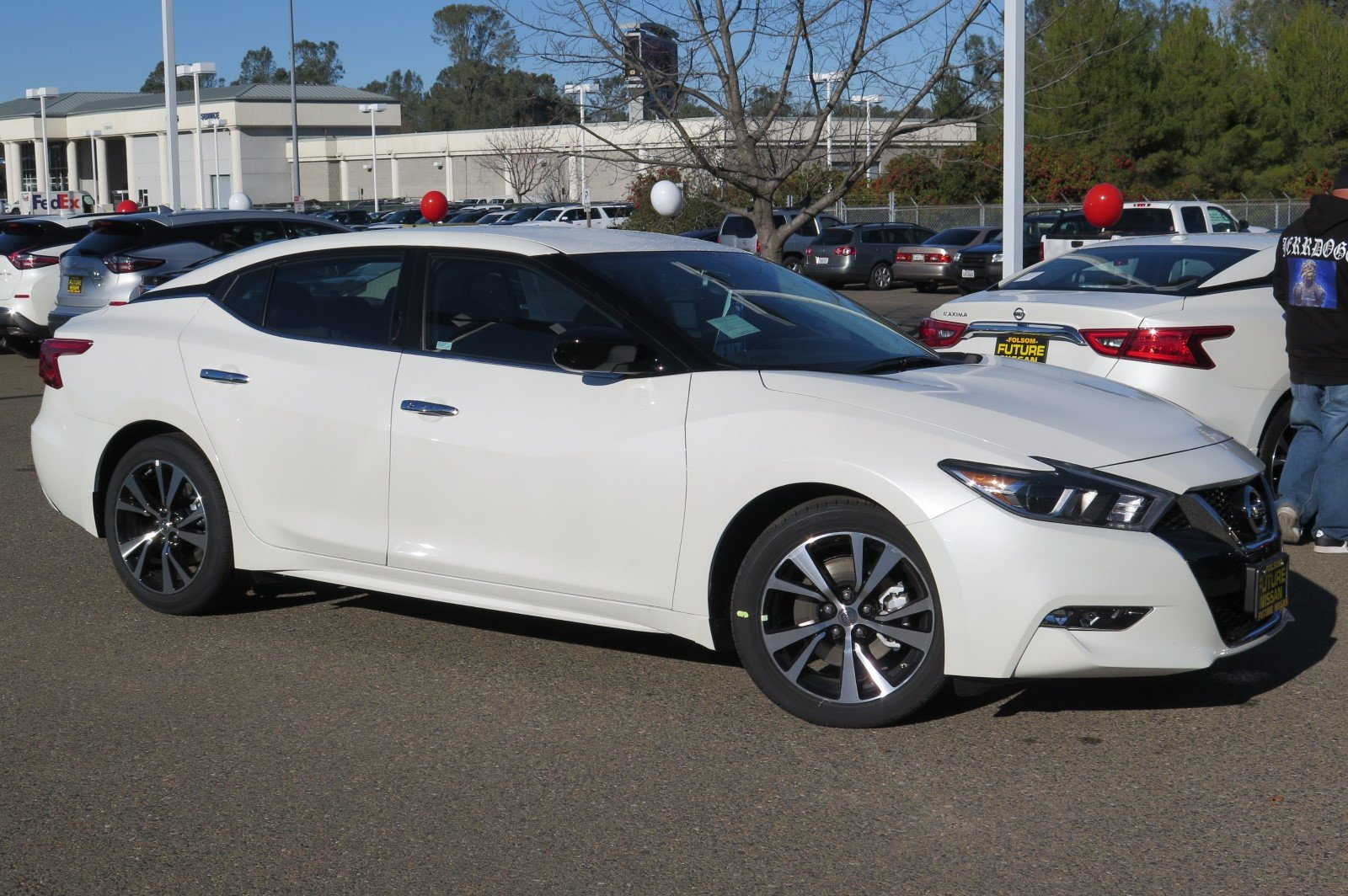 New 2018 Nissan Maxima S 4dr Car In Roseville F11841