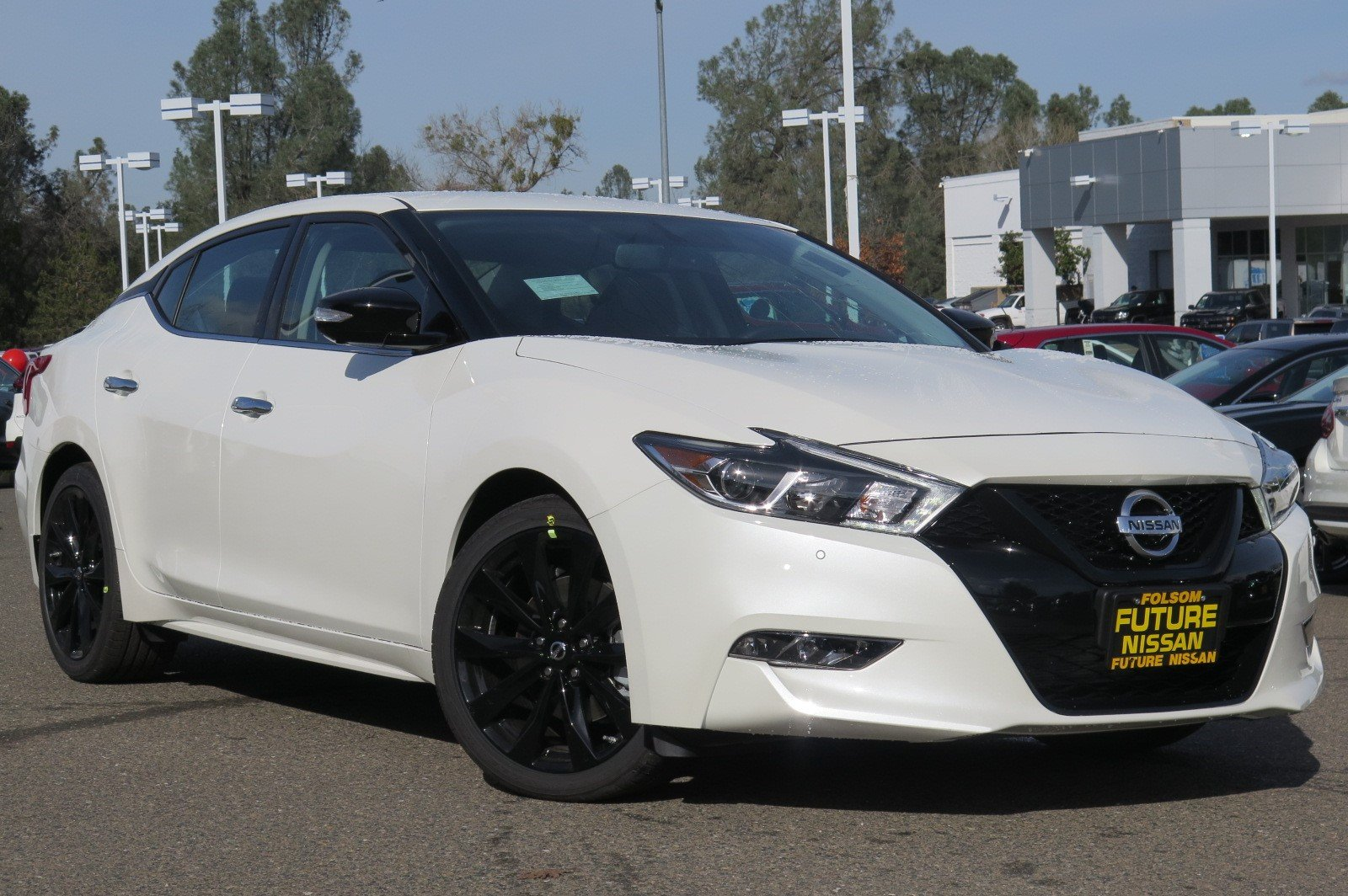 New 2018 Nissan Maxima Sr 4dr Car In Roseville F11920