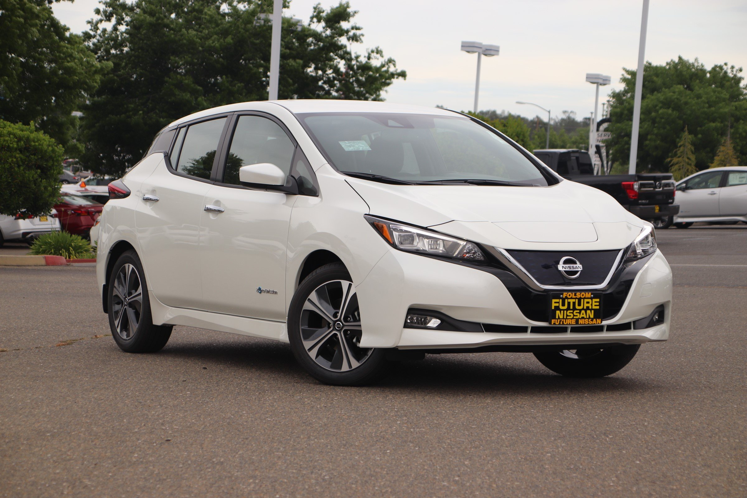 New 2019 Nissan Leaf Sv 4d Hatchback In Roseville F12982 Future