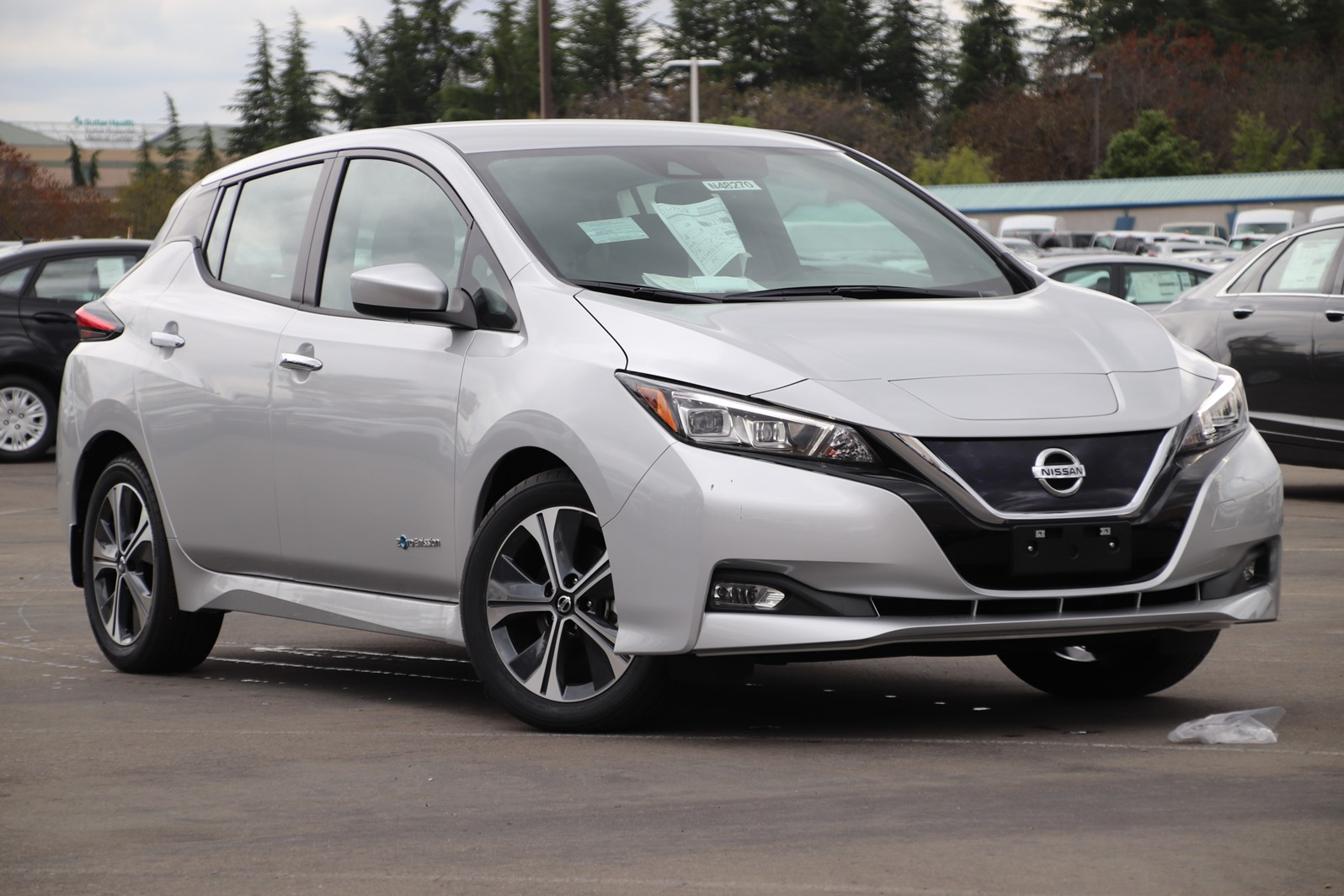 New 2019 Nissan Leaf Sv Hatchback In Roseville N48270 Future
