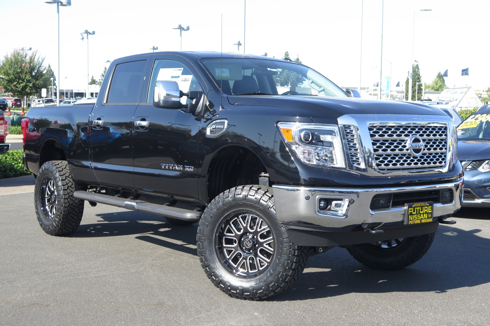 New 2017 Nissan Titan Xd Sl Crew Cab Pickup In Roseville