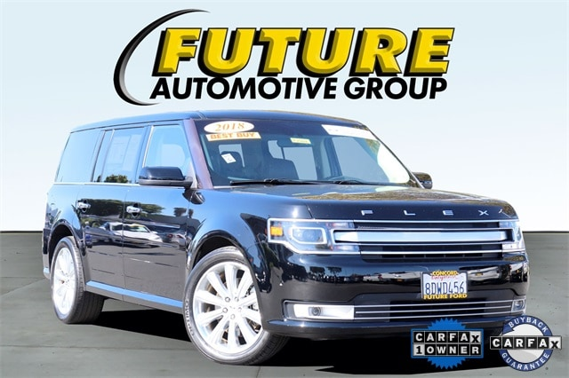 Pre-Owned 2018 Ford Flex Limited w/EcoBoost