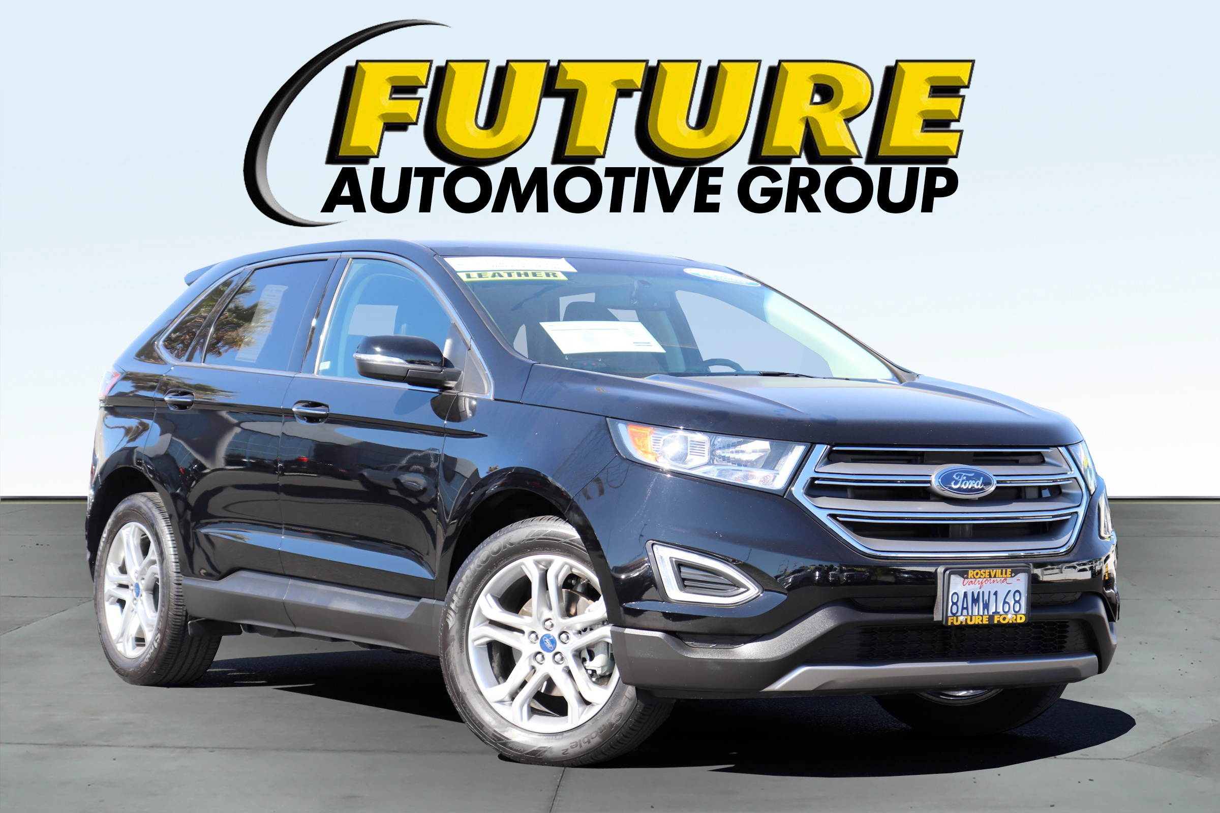 Pre Owned  Ford Edge Titanium Image Overlay