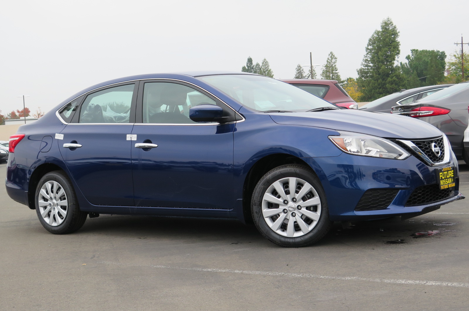 New 2018 Nissan Sentra S 4dr Car In Roseville N45030