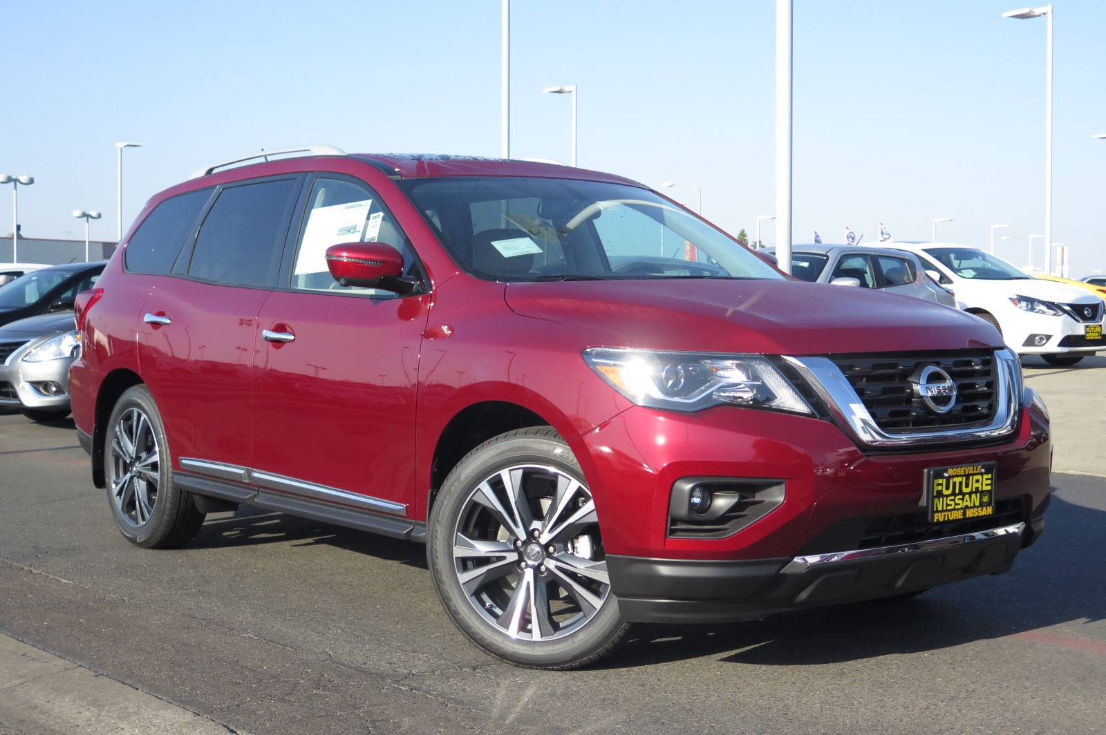New 2018 Nissan Pathfinder Platinum Sport Utility In