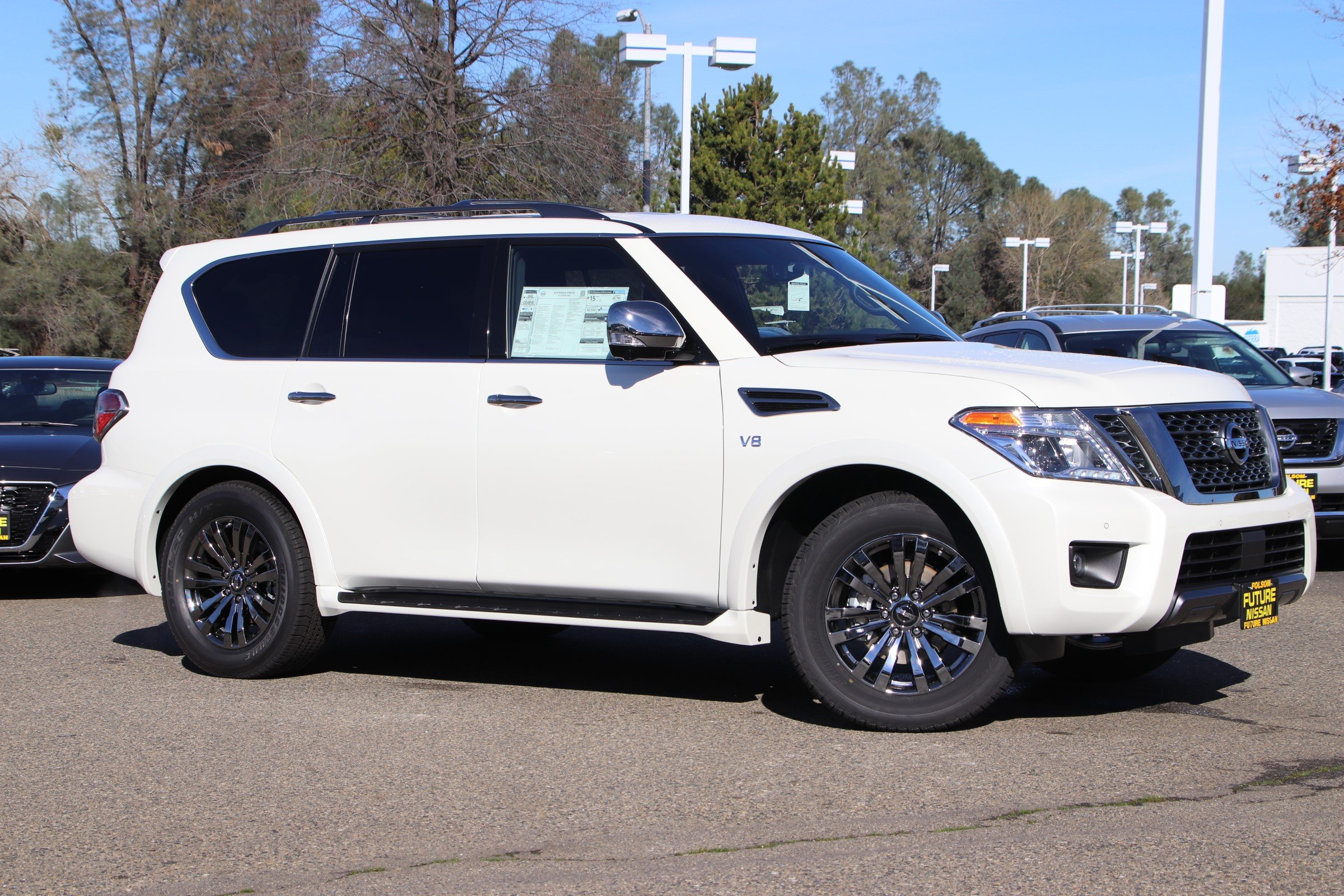 New 2019 Nissan Armada Platinum 4d Sport Utility In Roseville