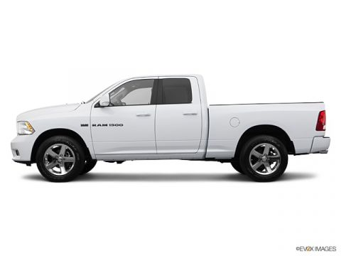 Pre-Owned 2012 Ram 1500 ST 4x2 Crew 5.7ft
