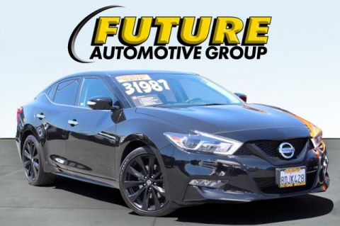 Certified Pre-Owned 2018 Nissan Maxima SR