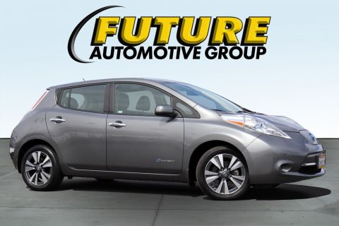 Certified Pre-Owned 2015 Nissan LEAF SV