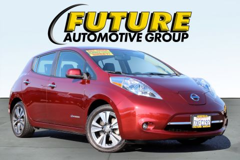 Certified Pre-Owned 2017 Nissan LEAF SL
