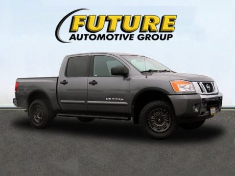 Certified Pre-Owned 2015 Nissan Titan SV 4WD