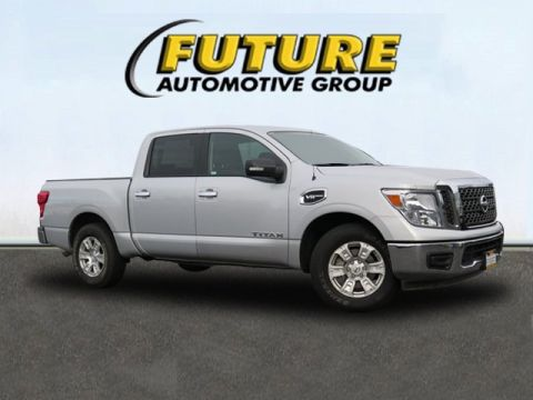 Certified Pre-Owned 2017 Nissan Titan S RWD Crew Cab Pickup