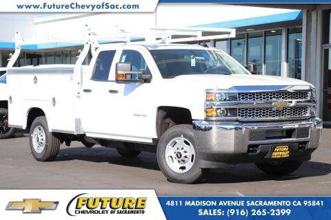 Pre-Owned 2019 Chevrolet Silverado 2500HD WT