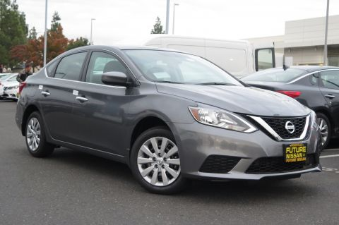 New 2018 Nissan Sentra S FWD 4dr Car