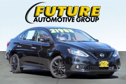 Certified Pre-Owned 2018 Nissan Sentra SR