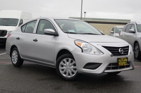 New 2018 Nissan Versa Sedan S FWD 4dr Car