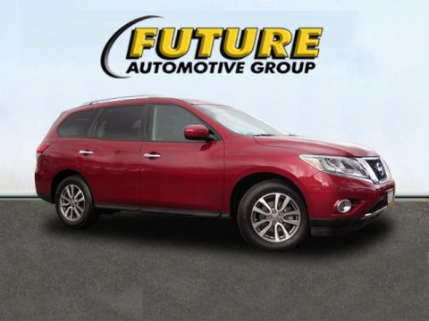 Certified Pre-Owned 2015 Nissan Pathfinder SV Front Wheel Drive Sport Utility