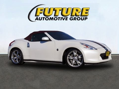 Certified Pre-Owned 2012 Nissan 370Z Touring RWD Convertible