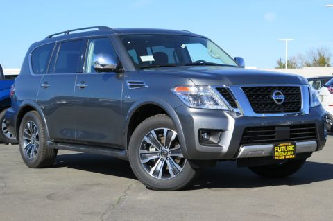 New 2018 Nissan Armada SL With Navigation & AWD
