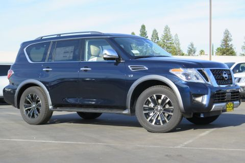 New 2018 Nissan Armada Platinum With Navigation & AWD