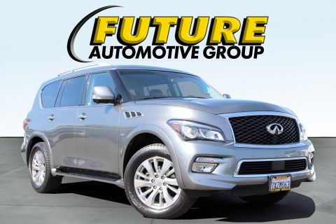 Pre-Owned 2017 INFINITI QX80 Sport Utility