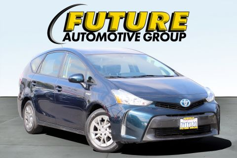 Pre-Owned 2017 Toyota Prius v Station Wagon